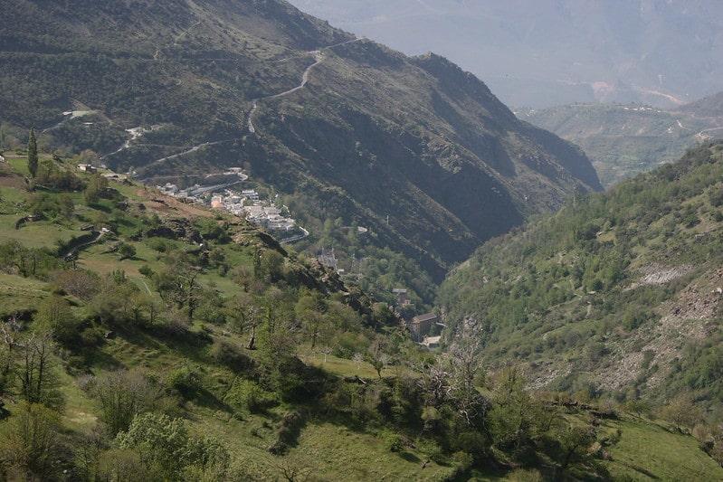 Rich results on google SERP when seaching for Alpujarras